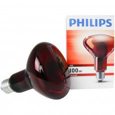 Philips R95 IR 100W E27 230V Rouge