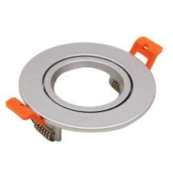 Anneau 85mm pour Aron Spot - Aluminium brossé