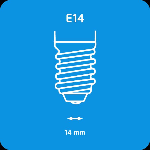 philips halogène e14