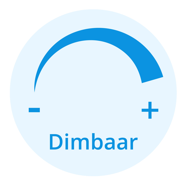 Voordeelpak 10x Osram Parathom Pro GU10 PAR16 7W 930 350lm | Dimbaar - Warm Wit - Vervangt 50W