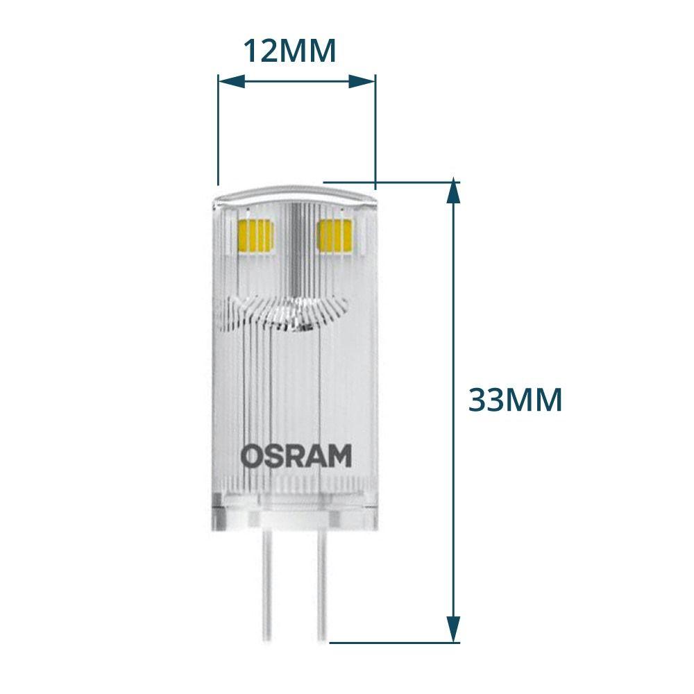 Osram Parathom Pin G4 0.9W 827 Helder   Vervangt 10W