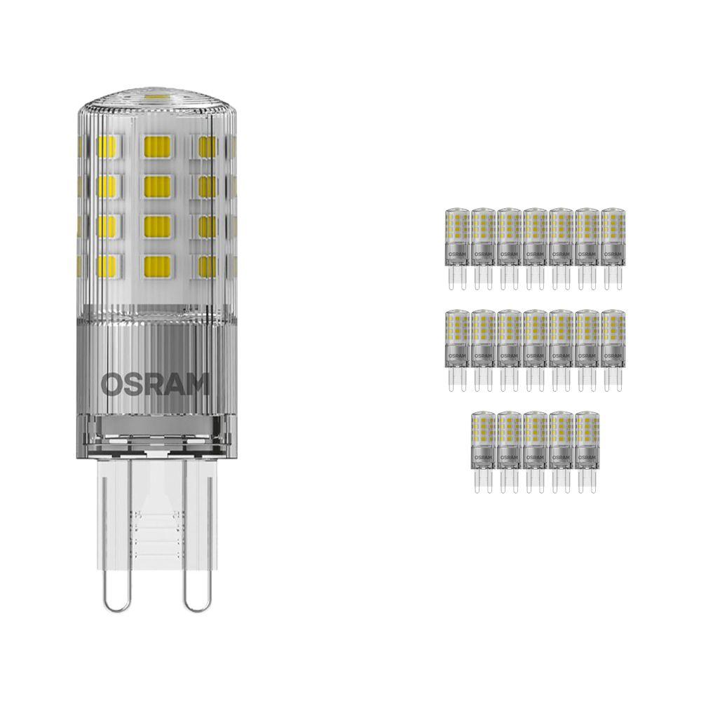 Voordeelpak 20x Osram Parathom LED PIN G9 4.2W 827   Dimbaar - Zeer Warm Wit - Vervangt 40W