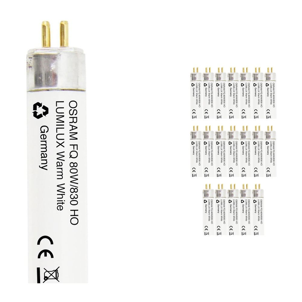 Voordeelpak 20x Osram FQ HO 80W 830 G5 Lumilux - 145cm