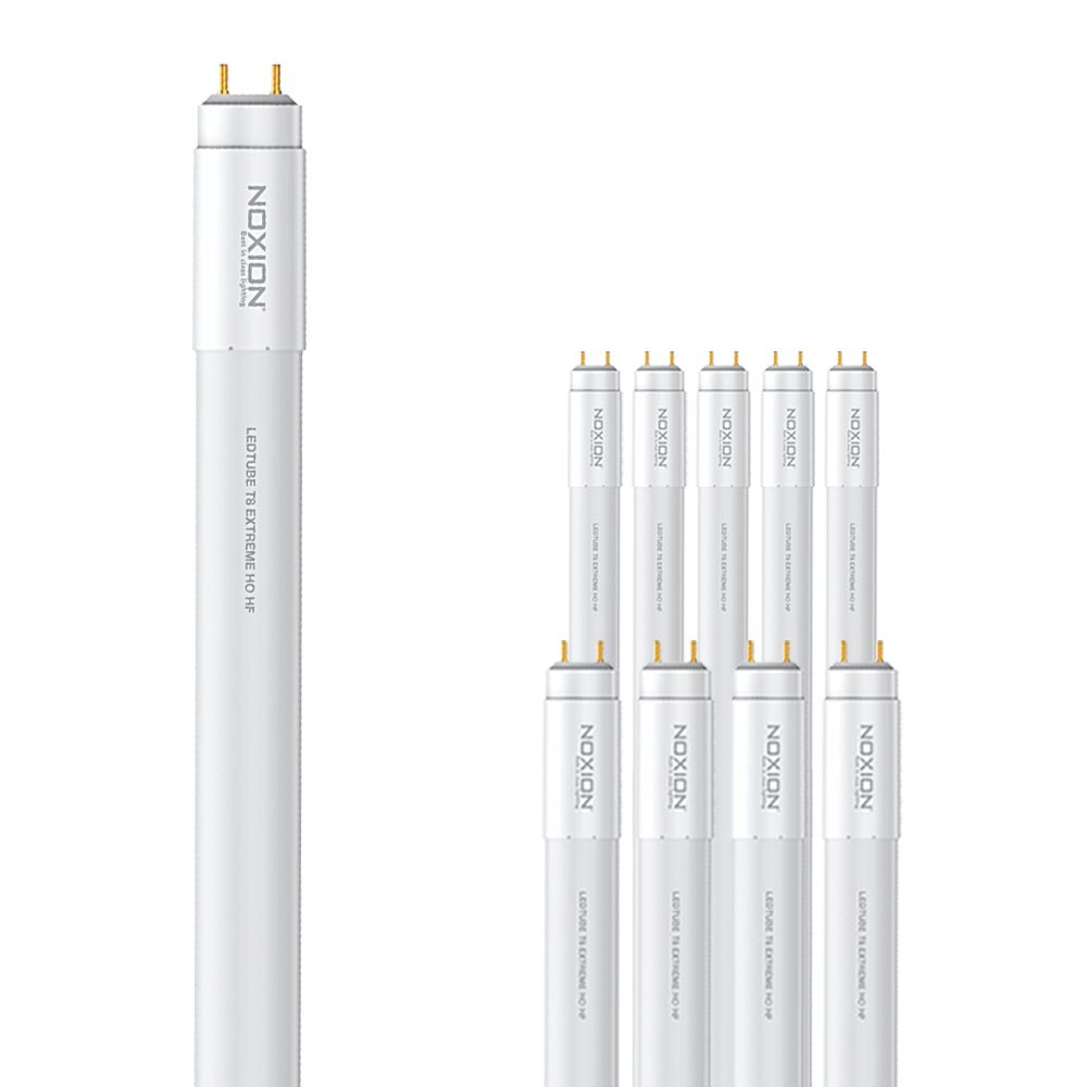 Voordeelpak 10x Noxion Avant LEDtube T8 Extreme HO HF 120cm 14W 865   Daglicht - Vervangt 36W