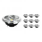 Voordeelpak 10x Noxion Lucent LED Spot AR111 G53 Pro 12V 12W 927 40D  Zeer Warm Wit - Beste Kleurweergave - Dimbaar - Vervangt 50W