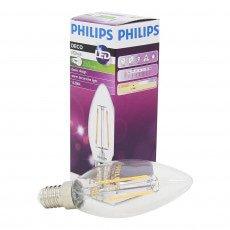 Philips Classic LEDcandle 2.3-25W E14 827 B35 Clear