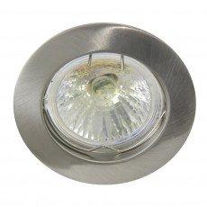 Halogeen Spot Vast - Geborsteld Aluminium