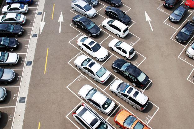 LED verlichting voor parkeerplaatsen