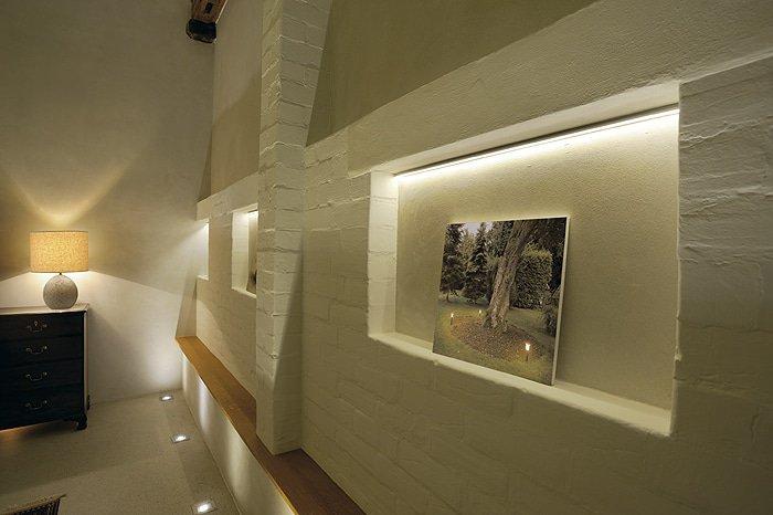 LED Strip Muur