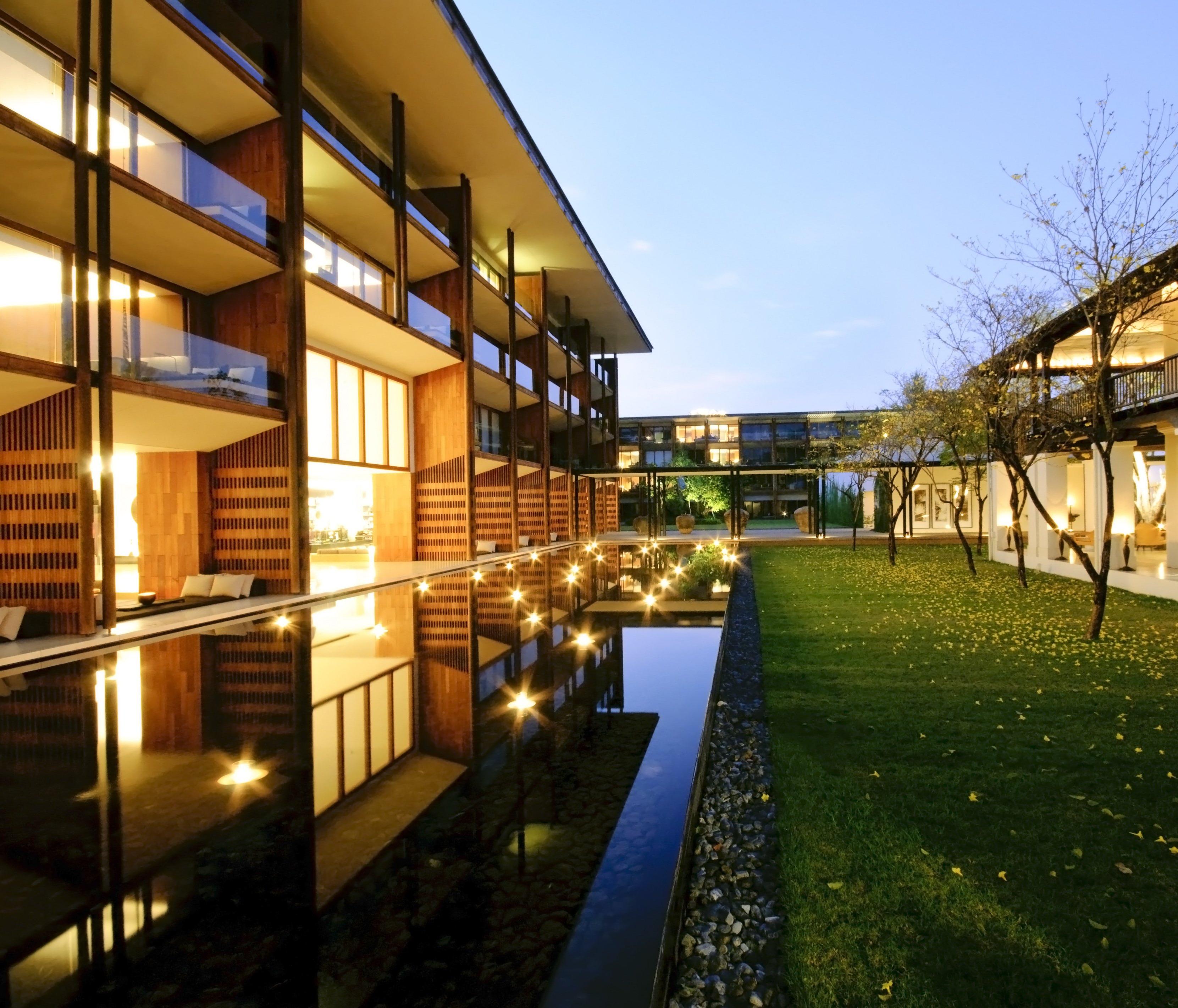 LED Buitenverlichting Appartementencomplex