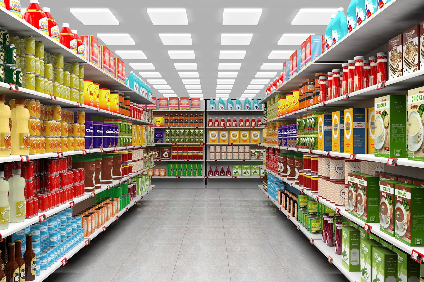 general lighting supermarket
