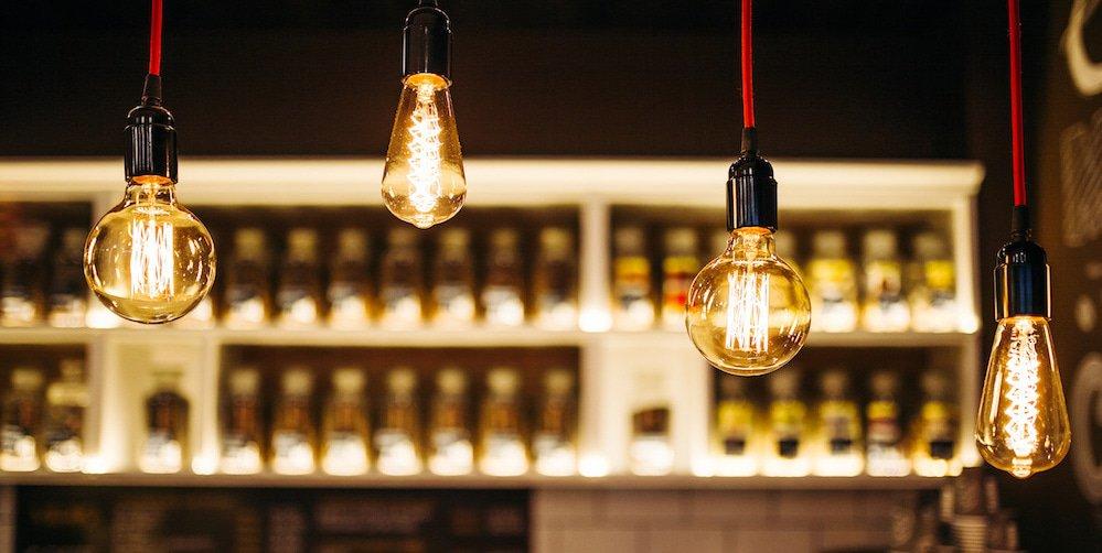 Restaurant Vintage LED bulbs