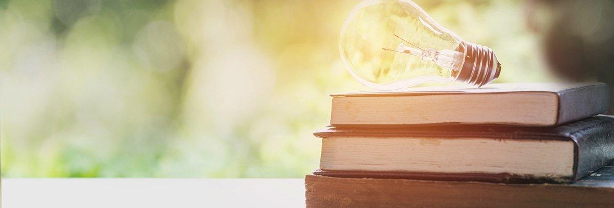 bulbs and books