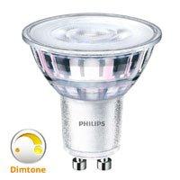 GU10 Philips Dimtone LED lampen