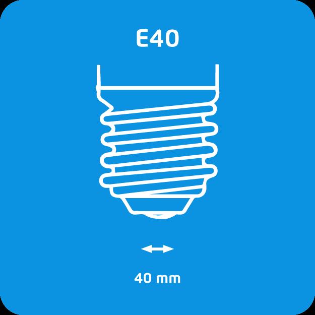 E40 gasontladingslampen