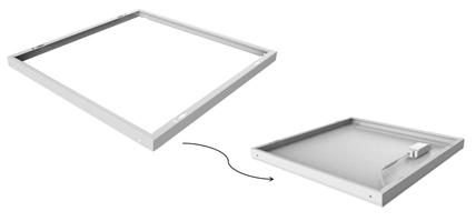 LED Paneel Opbouw Frame