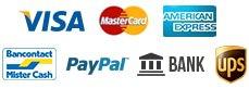 iDeal, Visa, MasterCard, Vooraf overmaken