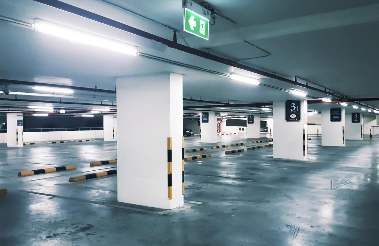 LED Montagebalken Parkeergarage
